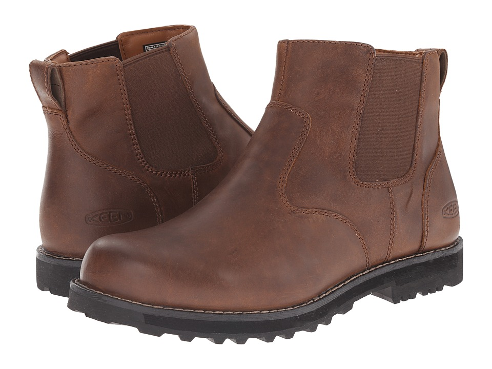 Keen - Tyretread Chelsea WP (Peanut) Men's Pull-on Boots
