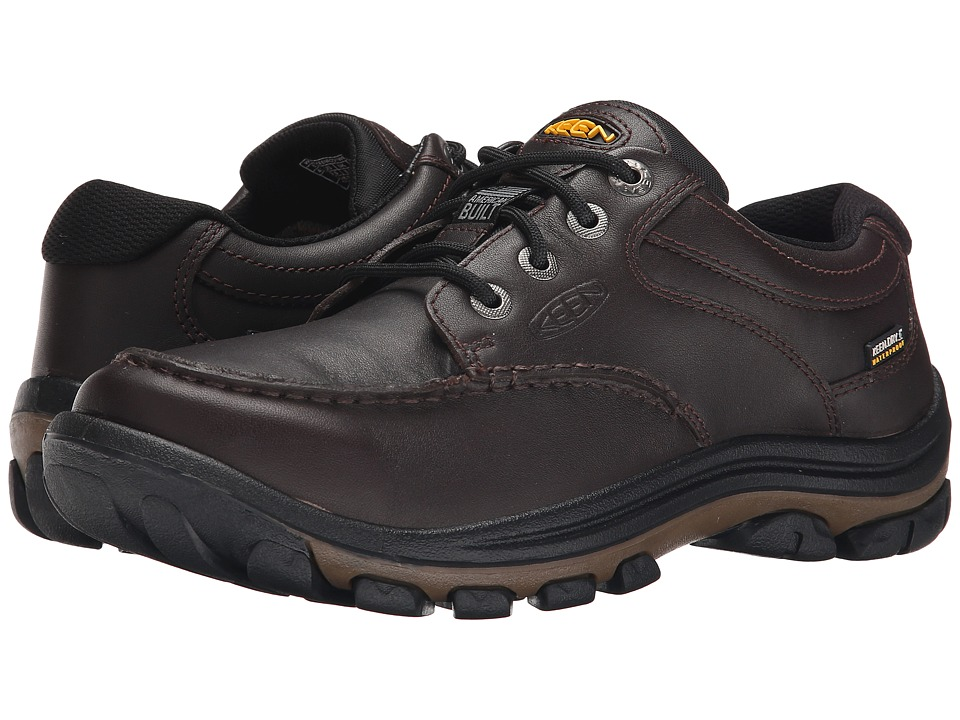 Keen Anchor Park Low WP (Brown Full Grain) Men