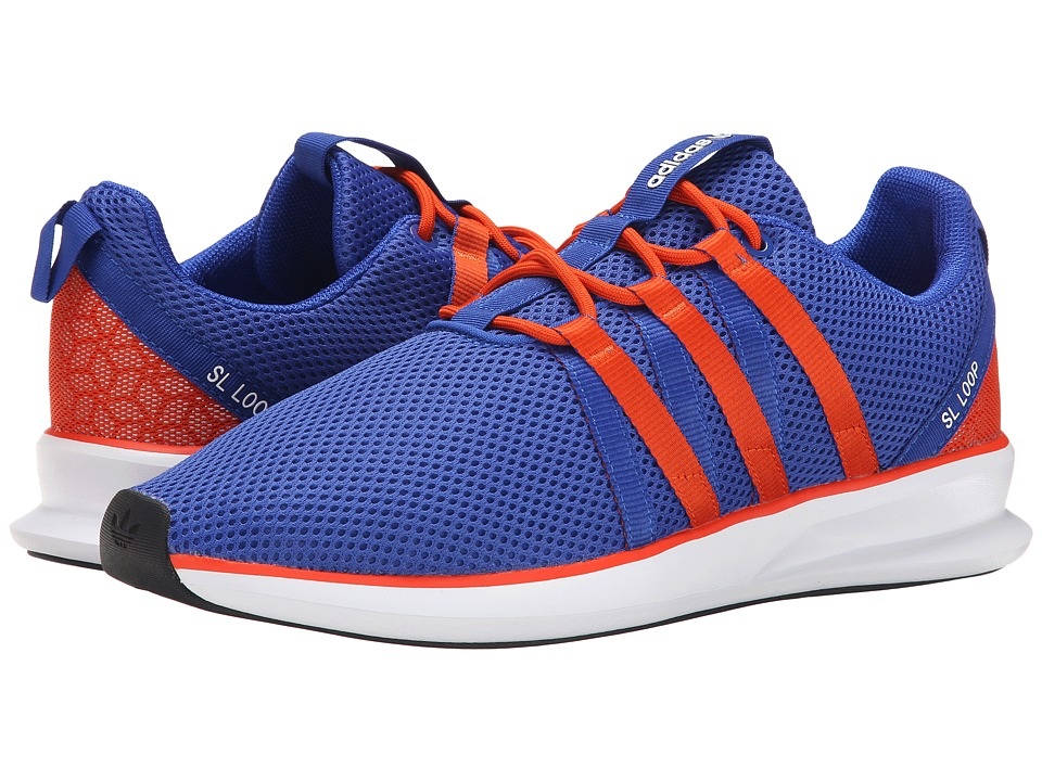 adidas Originals - SL Loop Racer (Bold Blue/Collegiate Orange/White) Men's Classic Shoes