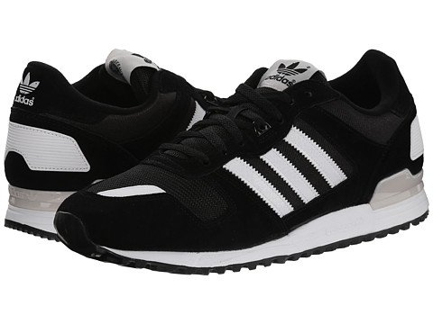 adidas Originals - ZX 700 (Black/White/Black) Men