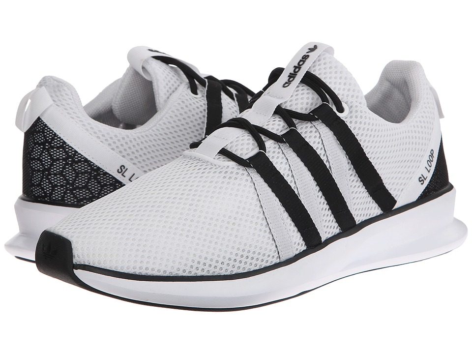 adidas Originals - SL Loop Racer (White/Black/Black) Men's Classic Shoes