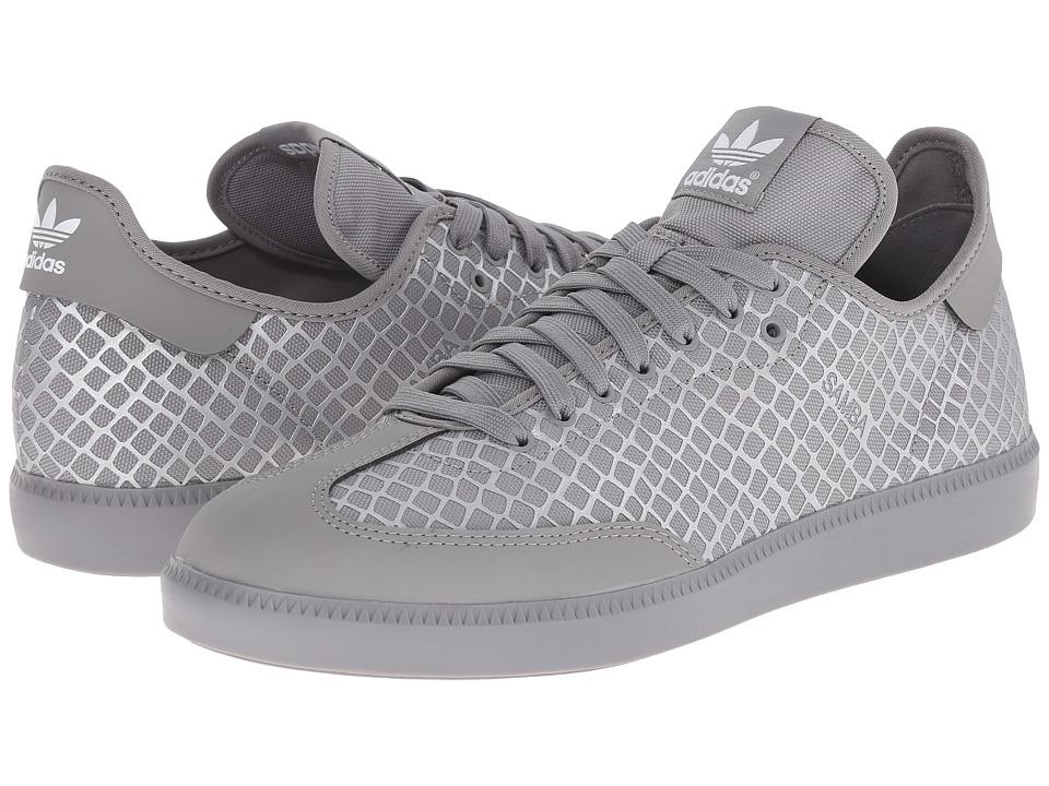 adidas Originals - Samba MC - Reflective Snake (Charcoal Solid Grey/Charcoal Solid Grey/Silver Metallic) Men