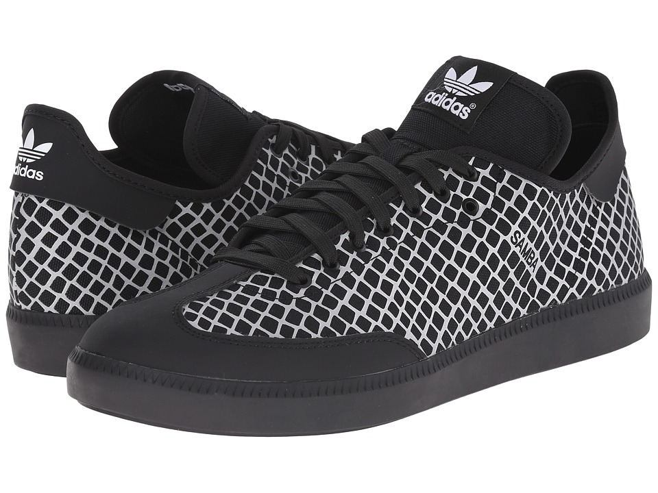 adidas Originals - Samba MC - Reflective Snake (Black/Black/Silver Metallic) Men's Classic Shoes