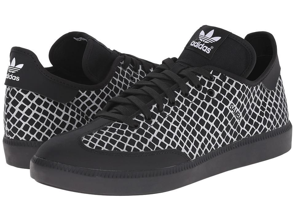 adidas Originals - Samba MC - Reflective Snake (Black/Black/Silver Metallic) Men's Classic Shoes