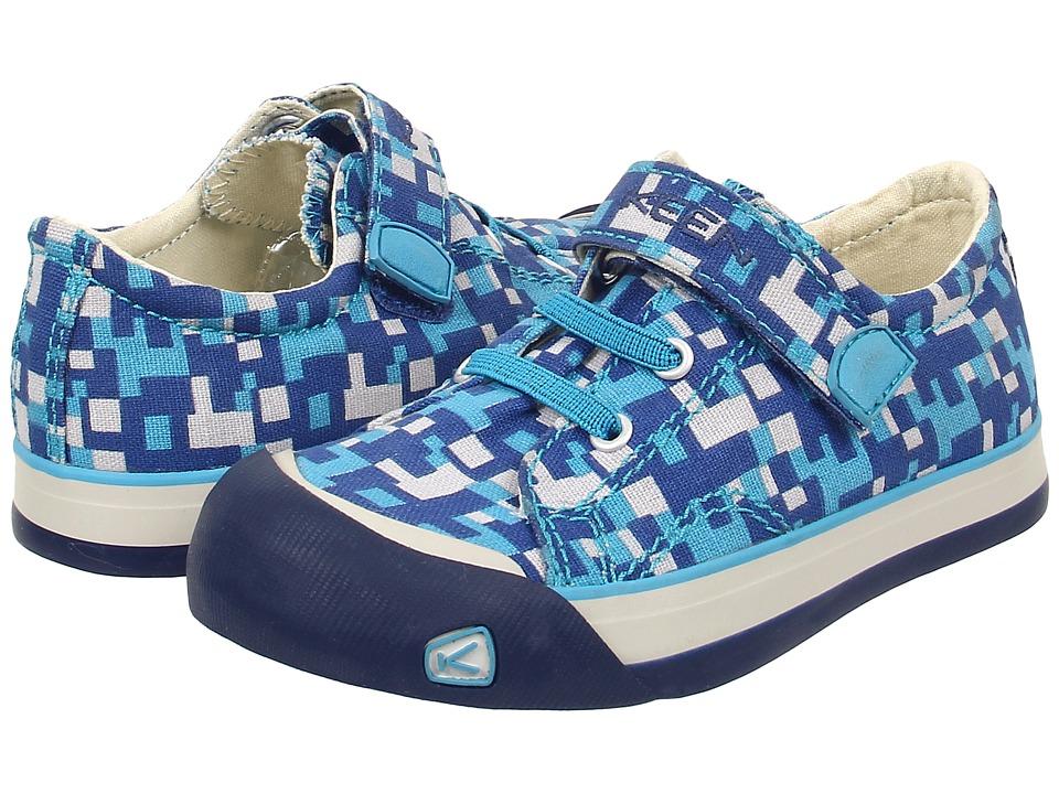 Keen Kids - Coronado Print (Toddler/Little Kid) (True Blue Digital Camo) Boys Shoes