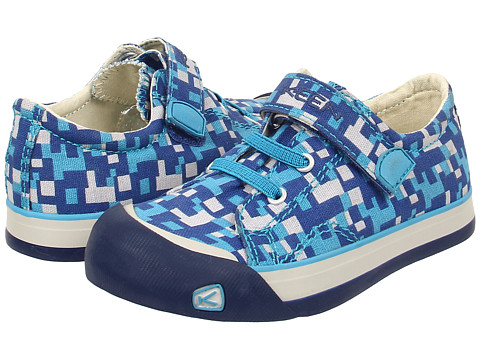 Keen Kids - Coronado Print (Toddler/Little Kid) (True Blue Digital Camo) Boys Shoes