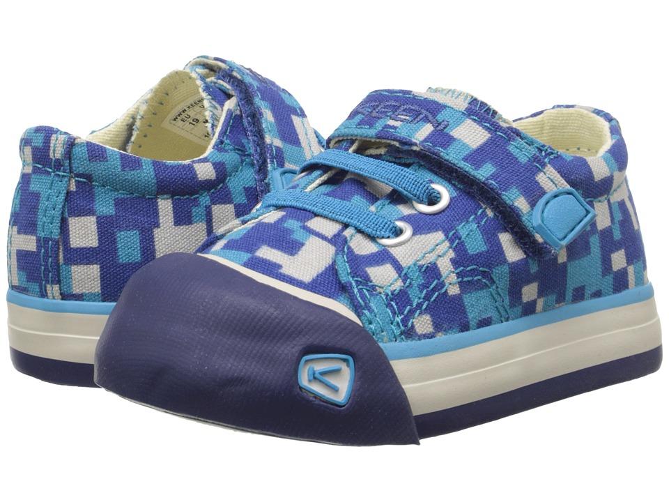 Keen Kids - Coronado Print (Toddler) (True Blue Digital Camo) Boys Shoes
