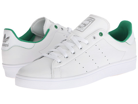 adidas Skateboarding - Stan Smith (Vintage White/Green/White) Men's Skate Shoes