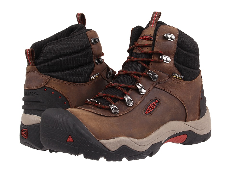 Keen - Revel III (Cascade Brown/Bossa Nova) Men's Waterproof Boots