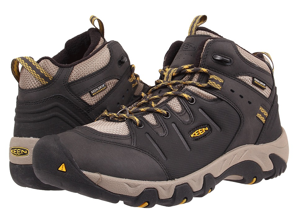 Keen - Koven Polar (Raven/Tawny Olive) Men's Cold Weather Boots