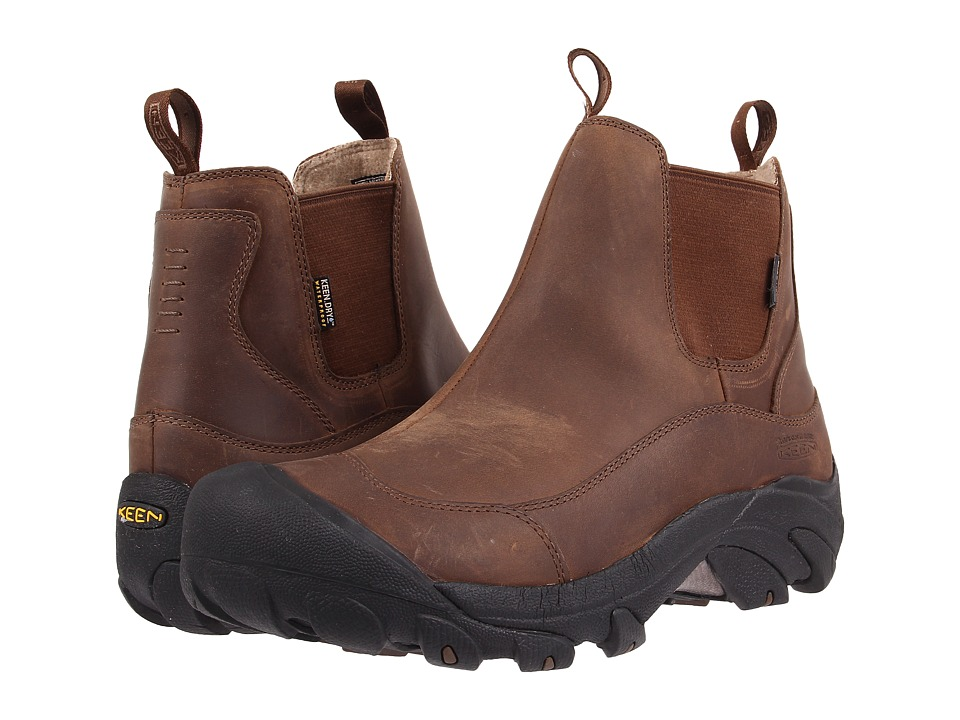 Keen - Anchorage Boot II (Dark Earth/Shitake) Men's Pull-on Boots