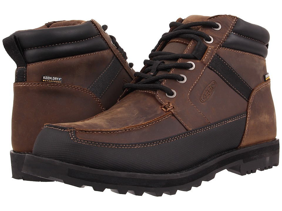 Keen - The Ace WP (Seal Brown) Men's Waterproof Boots