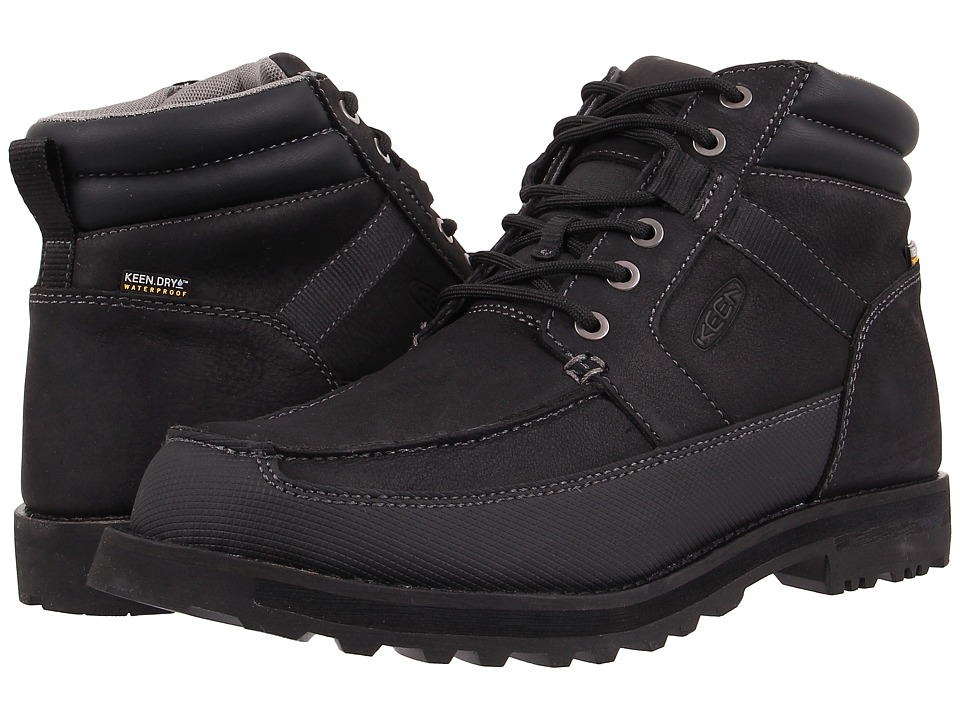 Keen - The Ace WP (Black) Men's Waterproof Boots