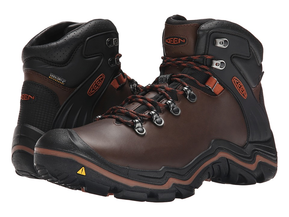 Keen - Liberty Ridge (Bison/Gingerbread) Men's Waterproof Boots