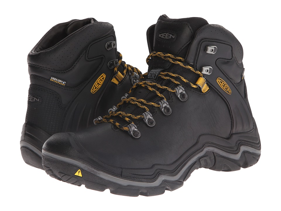 Keen - Liberty Ridge (Black/Gargoyle) Men's Waterproof Boots