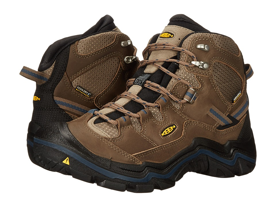 Keen - Durand Mid WP (Brindle/Midnight Navy) Men