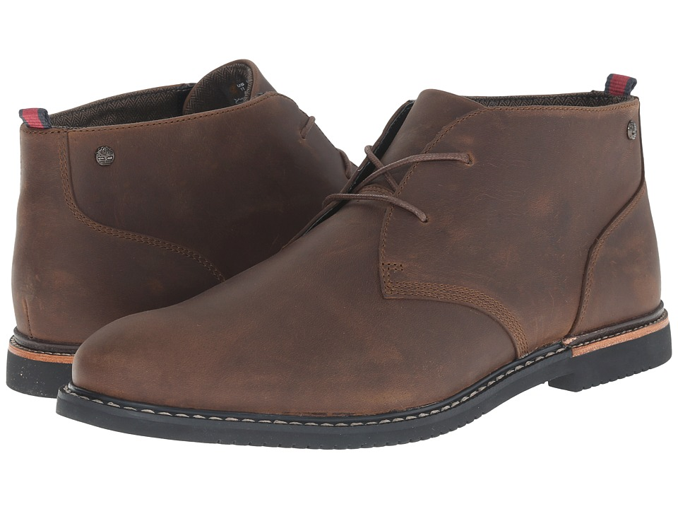 Timberland - Earthkeepers Brook Park Chukka (Brown Oiled Nubuck) Men's Lace-up Boots