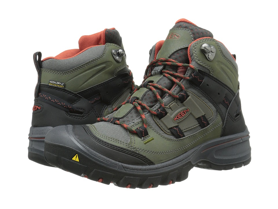 Keen - Logan Mid WP (Forest Night/Bossa Nova) Men's Hiking Boots