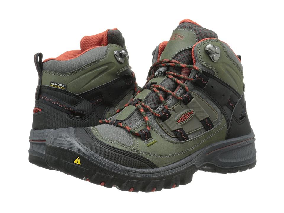 Keen - Logan Mid WP (Forest Night/Bossa Nova) Men's Hiking Boots