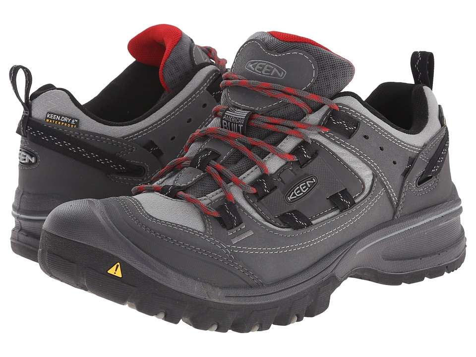 Keen - Logan (Magnet/Neutral Grey) Men's Hiking Boots