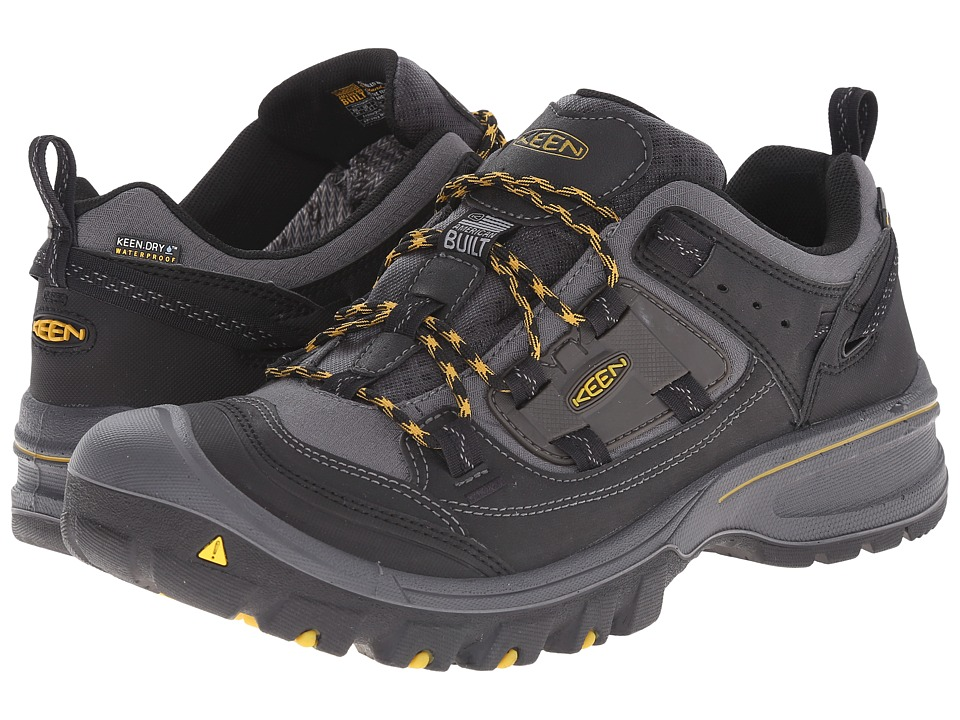 Keen - Logan (Black/Tawny Olive) Men's Hiking Boots