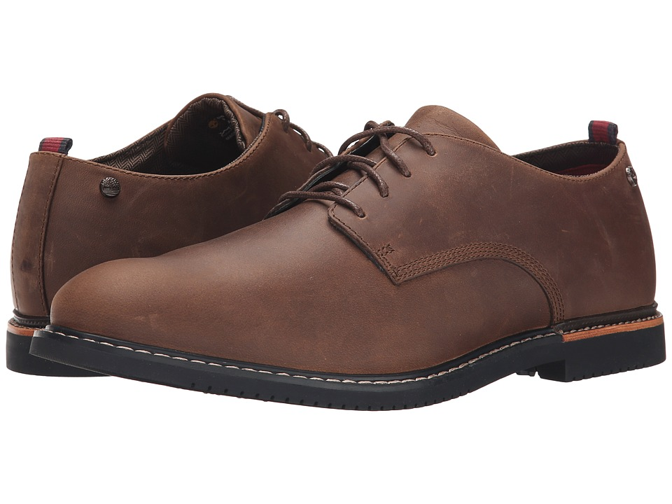 Timberland - Brook Park Oxford (Brown Oiled Nubuck) Men