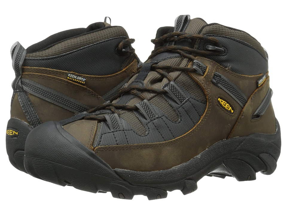 Keen - Targhee II Mid - Tac (Cascade Brown/Black) Men