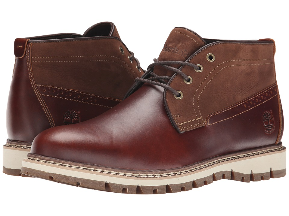 Timberland Britton Hill Waterproof Chukka (Chestnut Quartz/Buttersoft) Men