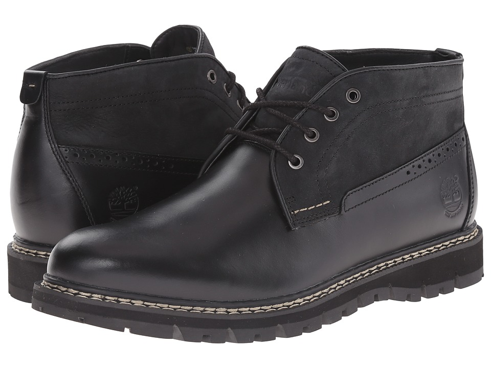 Timberland Britton Hill Waterproof Chukka (Black Quartz/Buttersoft) Men