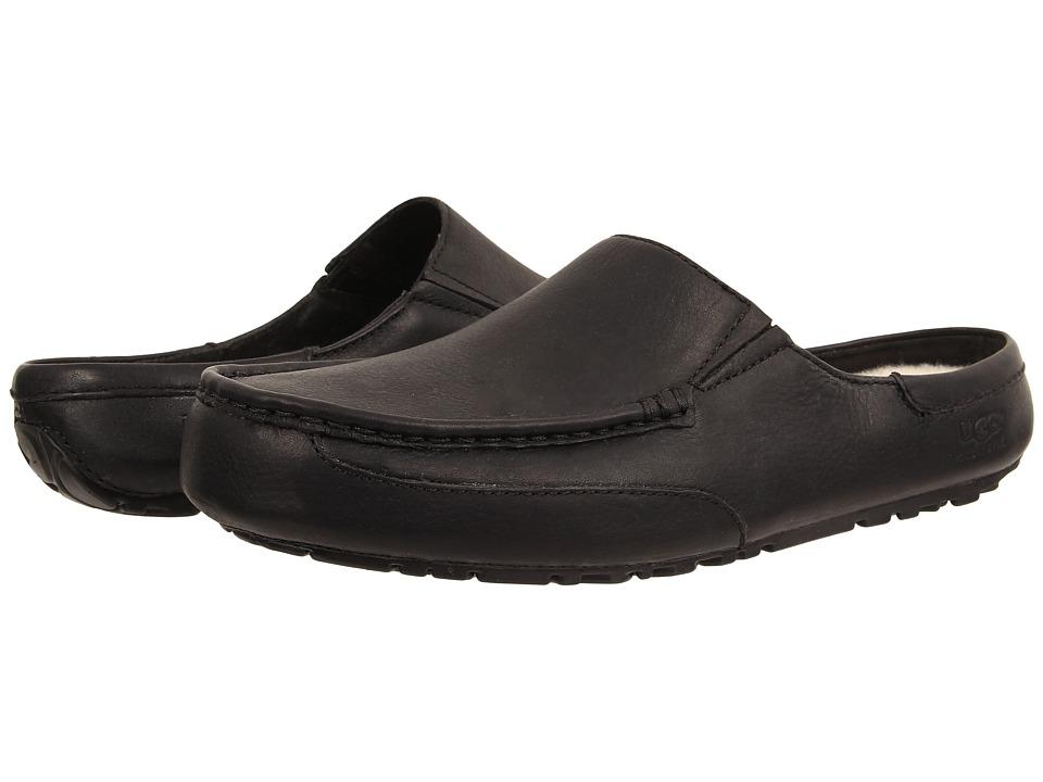 UGG - Alamar (Black Leather) Men