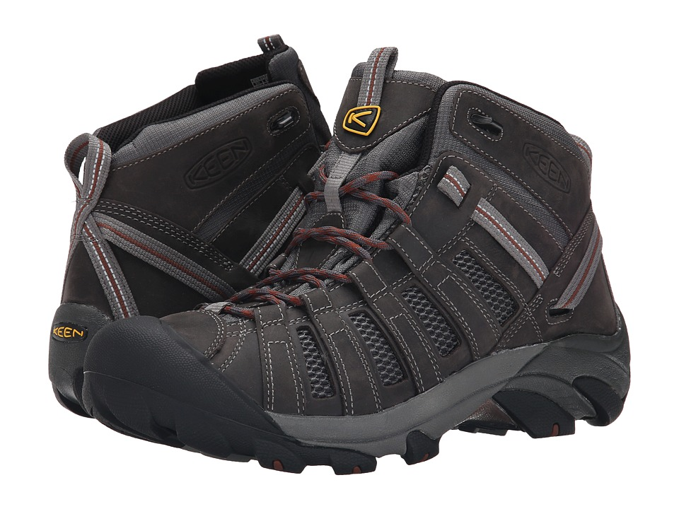 Keen - Voyageur Mid (Magnet/Tortoise Shell) Men's Hiking Boots