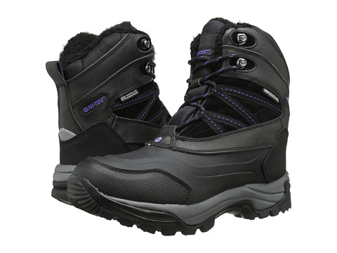 Hi-Tec - Snow Peak 200 WP (Black/Purple) Women