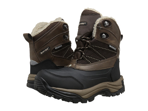 Hi-Tec - Snow Peak 200 WP (Chocolate/Snow) Women's Work Boots