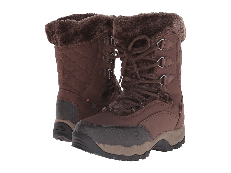 Hi-Tec - St Moritz Lite 200 I WP (Dark Chocolate/Taupe) Women's Work Boots