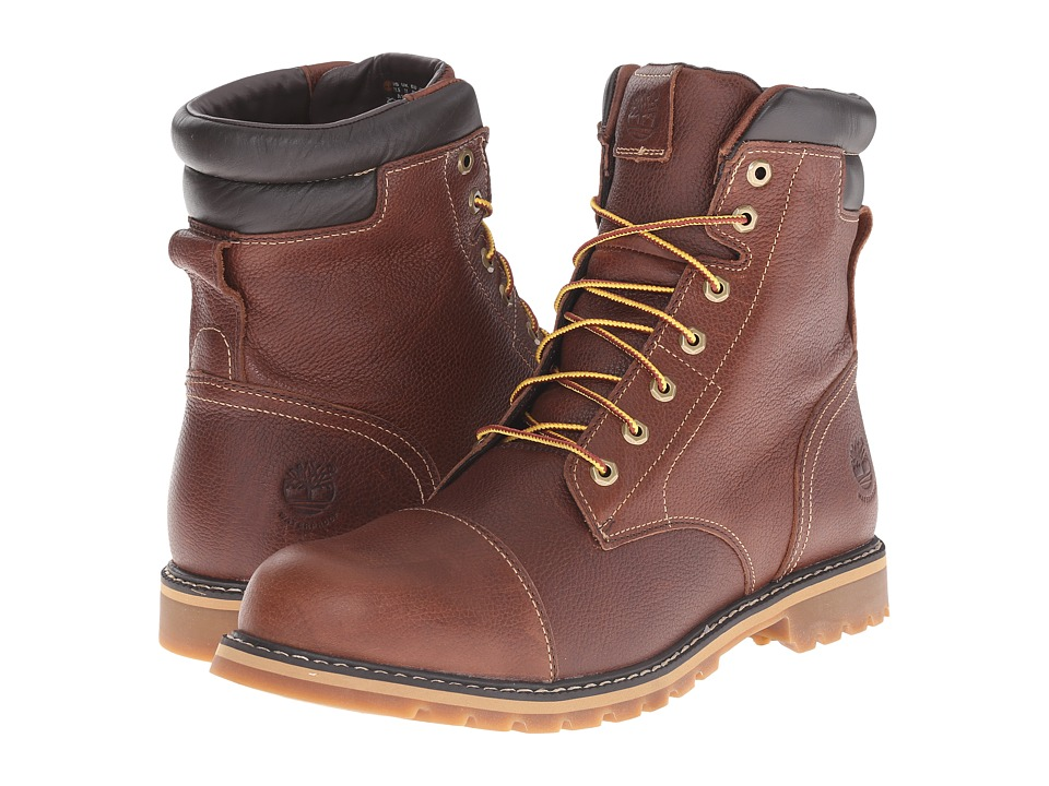 Timberland - Chestnut Ridge 6 Insulated Waterproof Boot (Dark Brown Full Grain) Men's Waterproof Boots