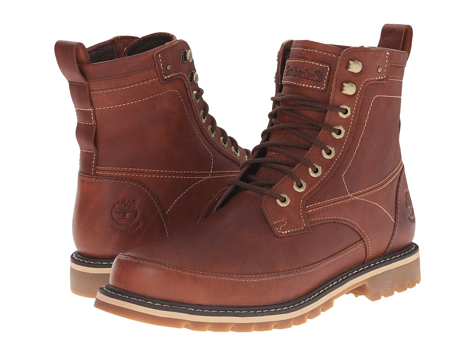 Timberland - Earthkeepers Chestnut Ridge 6 Boot Waterproof (Brown Full Grain) Men's Lace-up Boots