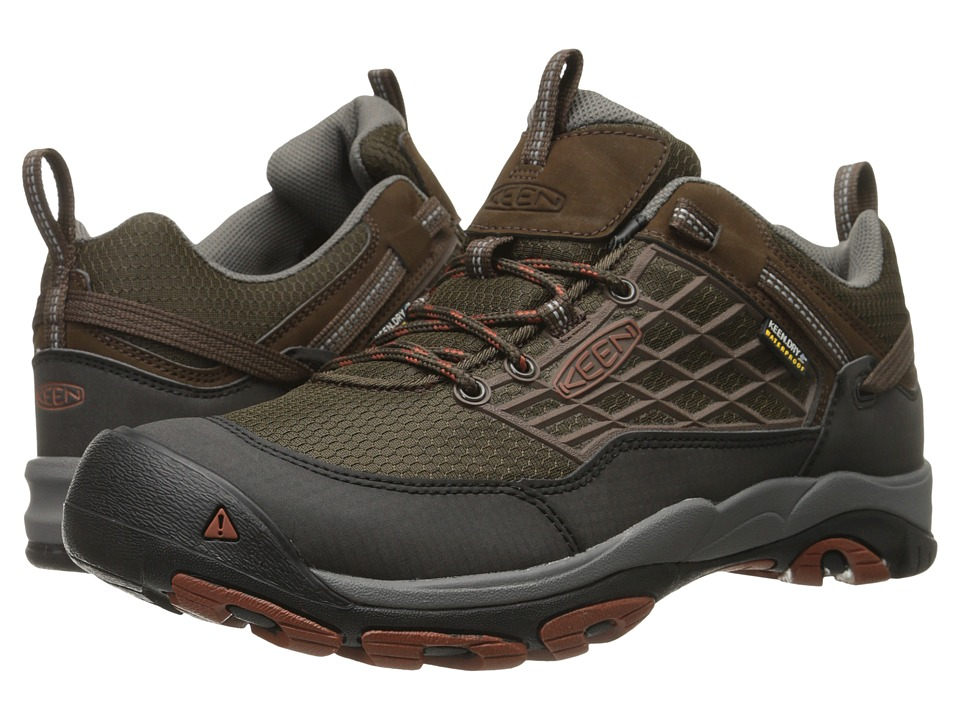 Keen - Saltzman WP (Cascade Brown/Gingerbread) Men's Shoes