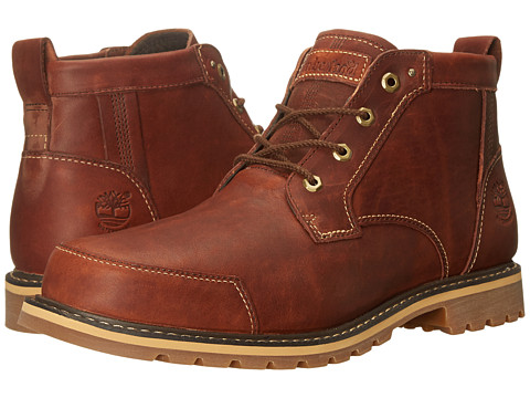 Timberland - Chestnut Ridge Waterproof Chukka (Brown Full Grain) Men