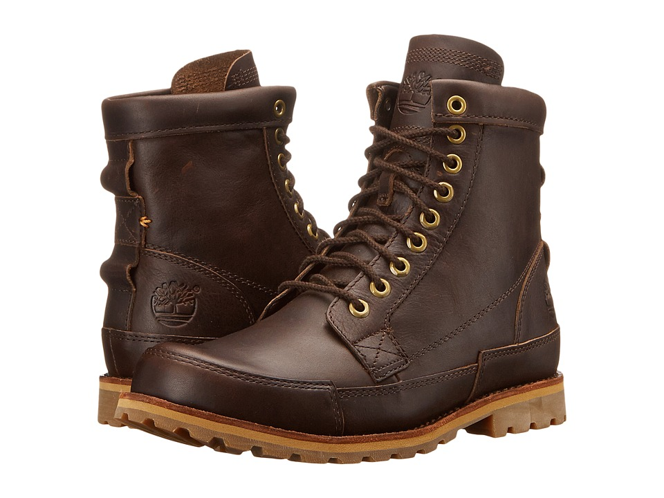 Timberland - Earthkeepers Rugged Original Leather 6 Boot (Mulch Forty Leather) Men's Lace-up Boots