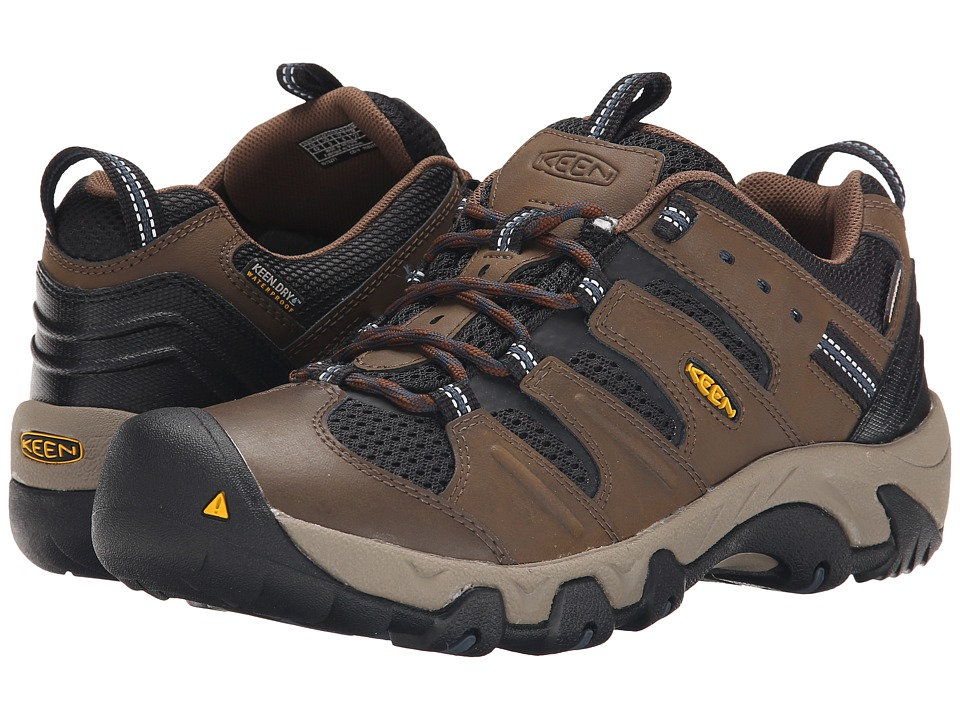 Keen - Koven Low WP (Dark Earth/Midnight Navy) Men