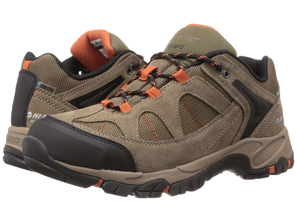 Hi-Tec - Altitude Lite Low I WP (Smokey Brown/Taupe/Red Rock) Men's Work Boots
