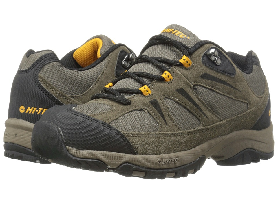 Hi-Tec - Trail II (Dark Taupe/Gold) Men's Work Boots