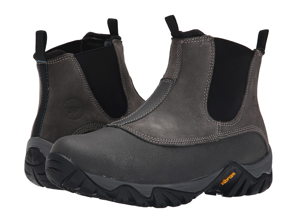 Hi-Tec - Terra Lox Mid 200 i (Black) Men's Work Boots