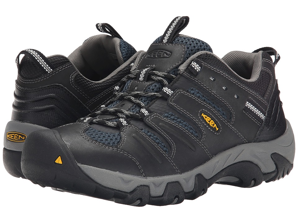 Keen - Koven (Black/Midnight Navy) Men's Hiking Boots