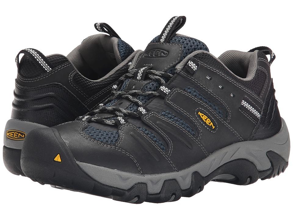 Keen - Koven (Black/Midnight Navy) Men's Hiking Boots