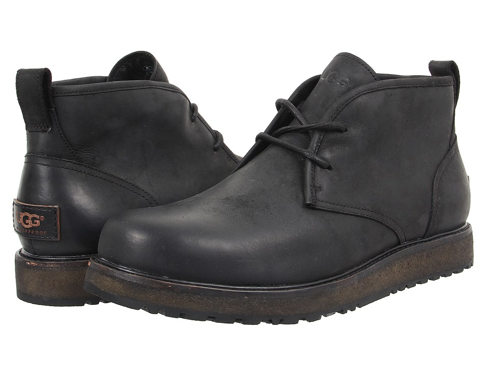 UGG - Calderwood (Black Leather) Men