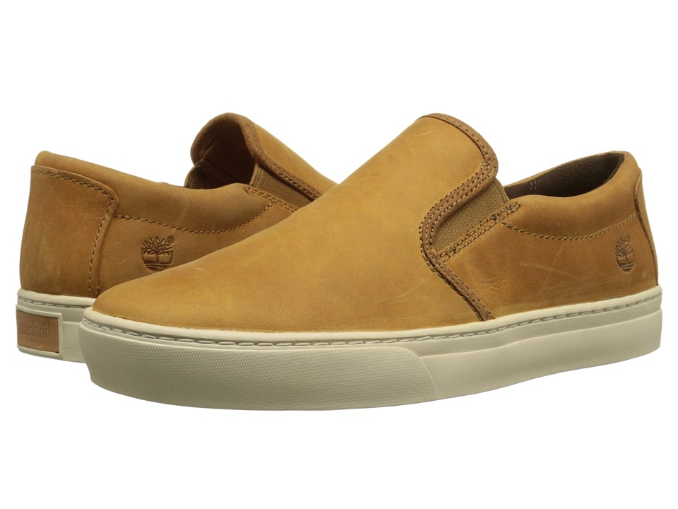 Timberland - Adventure 2.0 Cupsole Slip-On (Wheat Nubuck) Men's Slip on Shoes