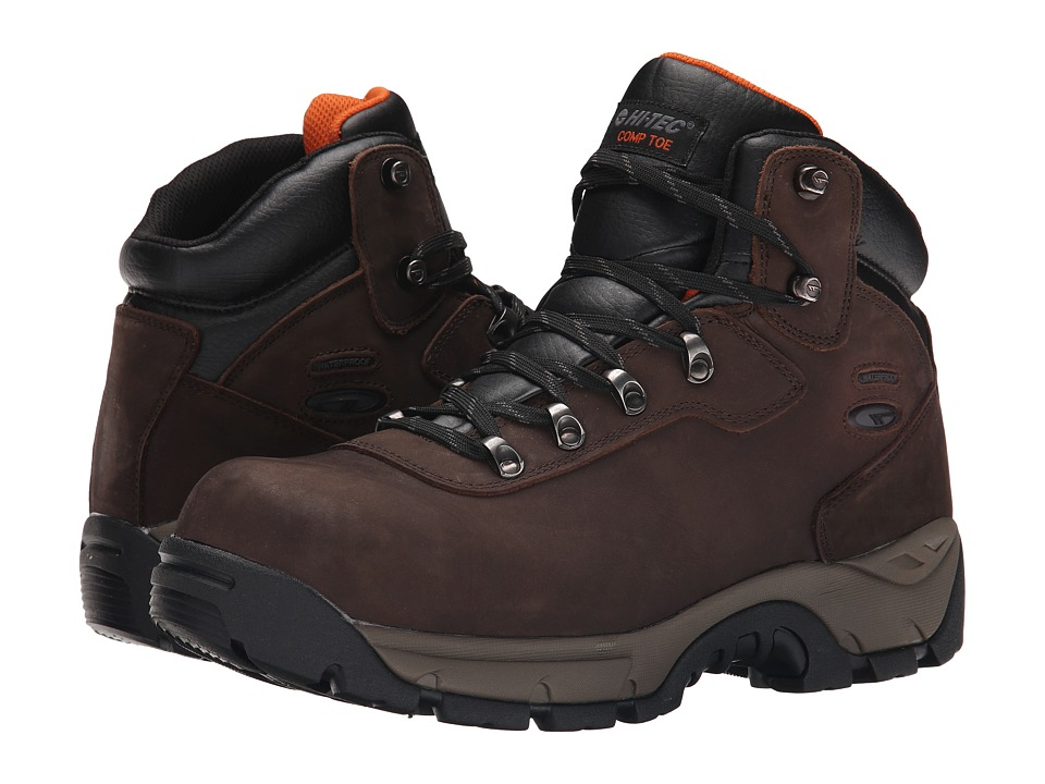 Hi-Tec - Altitude Pro I WP CT (Chocolate) Men's Work Boots