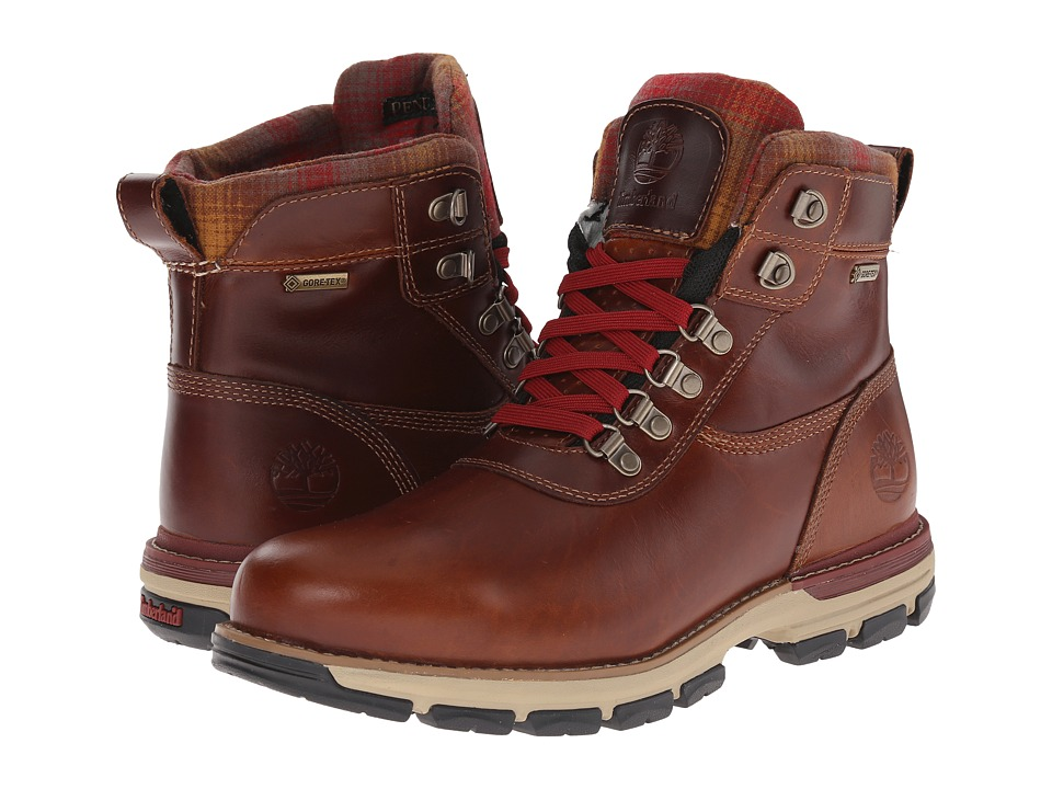 Timberland - Heston Mid w/ GORE-TEX Membrane (Brown) Men's Waterproof Boots