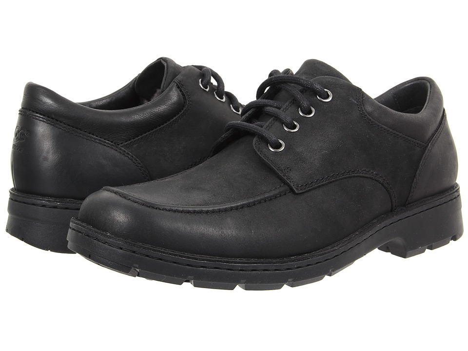UGG Burns (Black Leather) Men